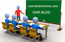 Cara dapat uang dari blog online