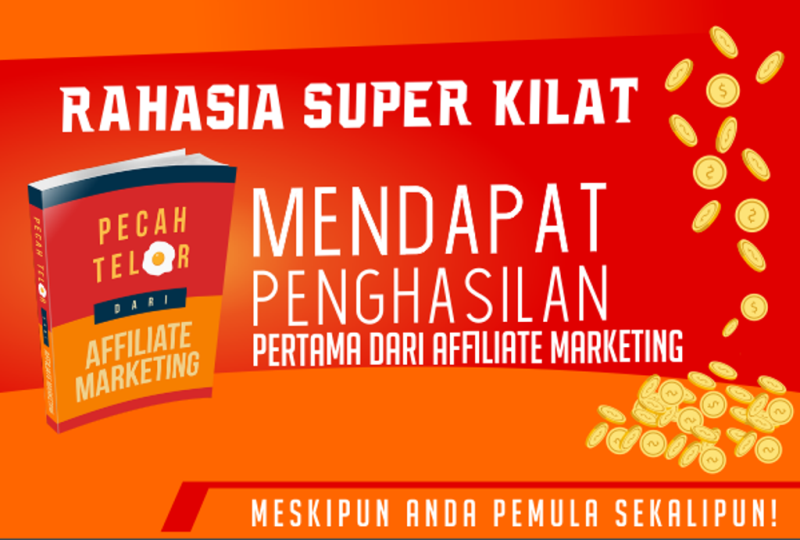 Pecah telor pertama dari affiliate marketing